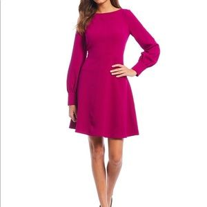 SOLD - Vince Camuto Stretch Crepe A-Line Dress